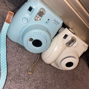 *BUNDLE* Two Polaroids! One blue, one white!